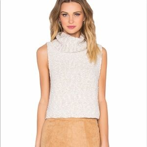 FREE PEOPLE Little White Lies Sweater Vest Small